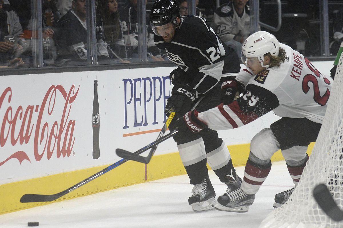 NHL: Preseason-Arizona Coyotes at Los Angeles Kings