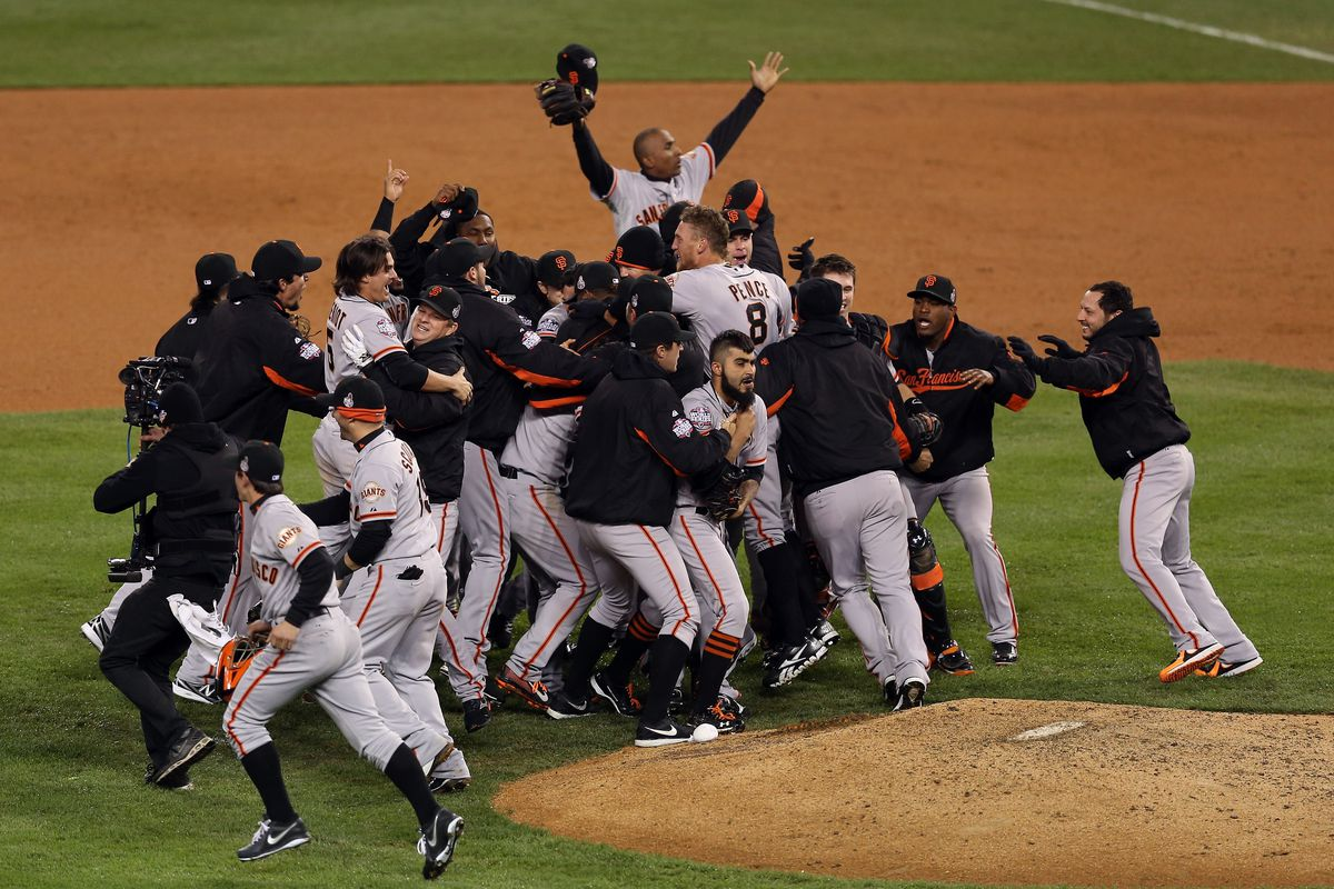 World Series - San Francisco Giants v Detroit Tigers - Game 4