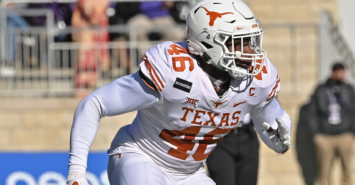 Why Texas edge defender Joseph Ossai could be a smart Day 2 pick for the Steelers