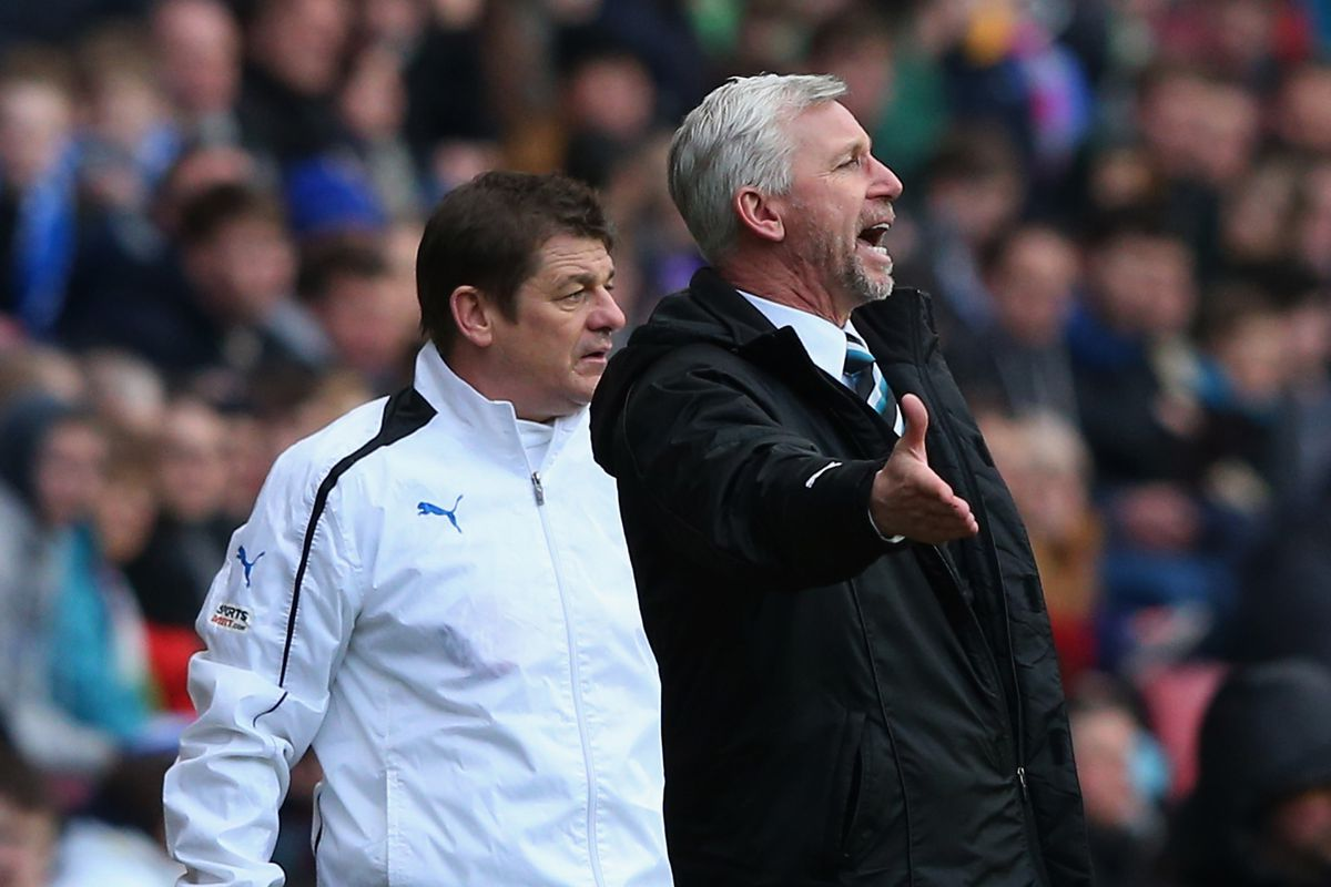 Alan Pardew couldn't believe Newcastle's fortunes on Sunday.