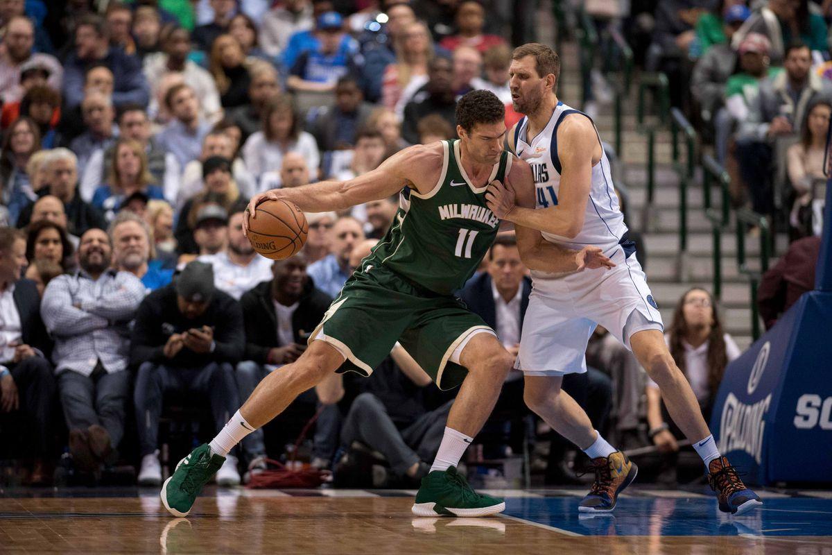 NBA: Milwaukee Bucks at Dallas Mavericks
