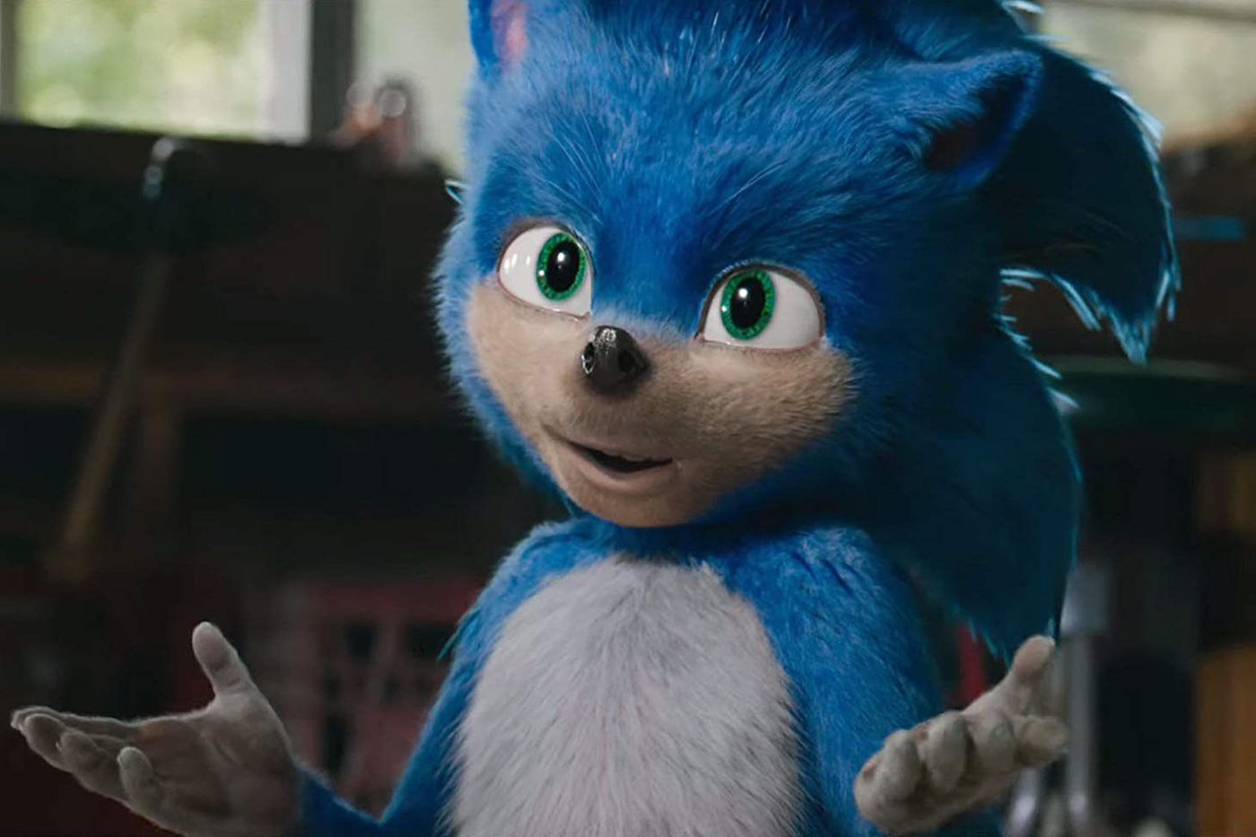 Sonic S Live Action Design Upset The Entire Internet So The Studio Is Changing It The Verge