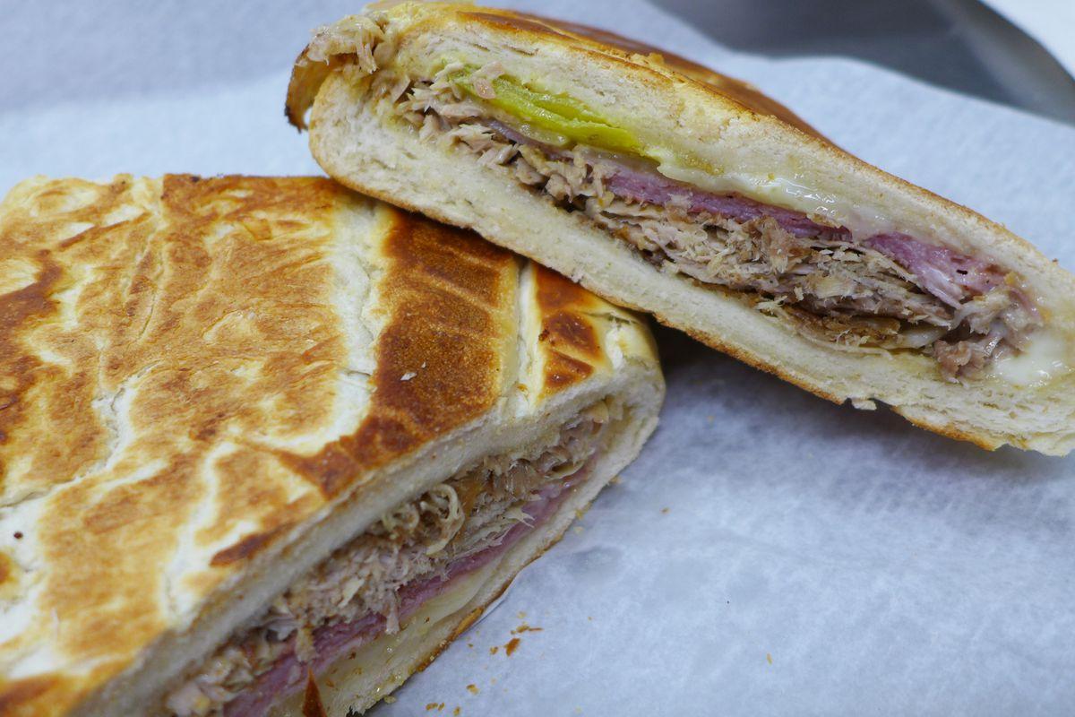 Perhaps the city's best Cuban sandwich