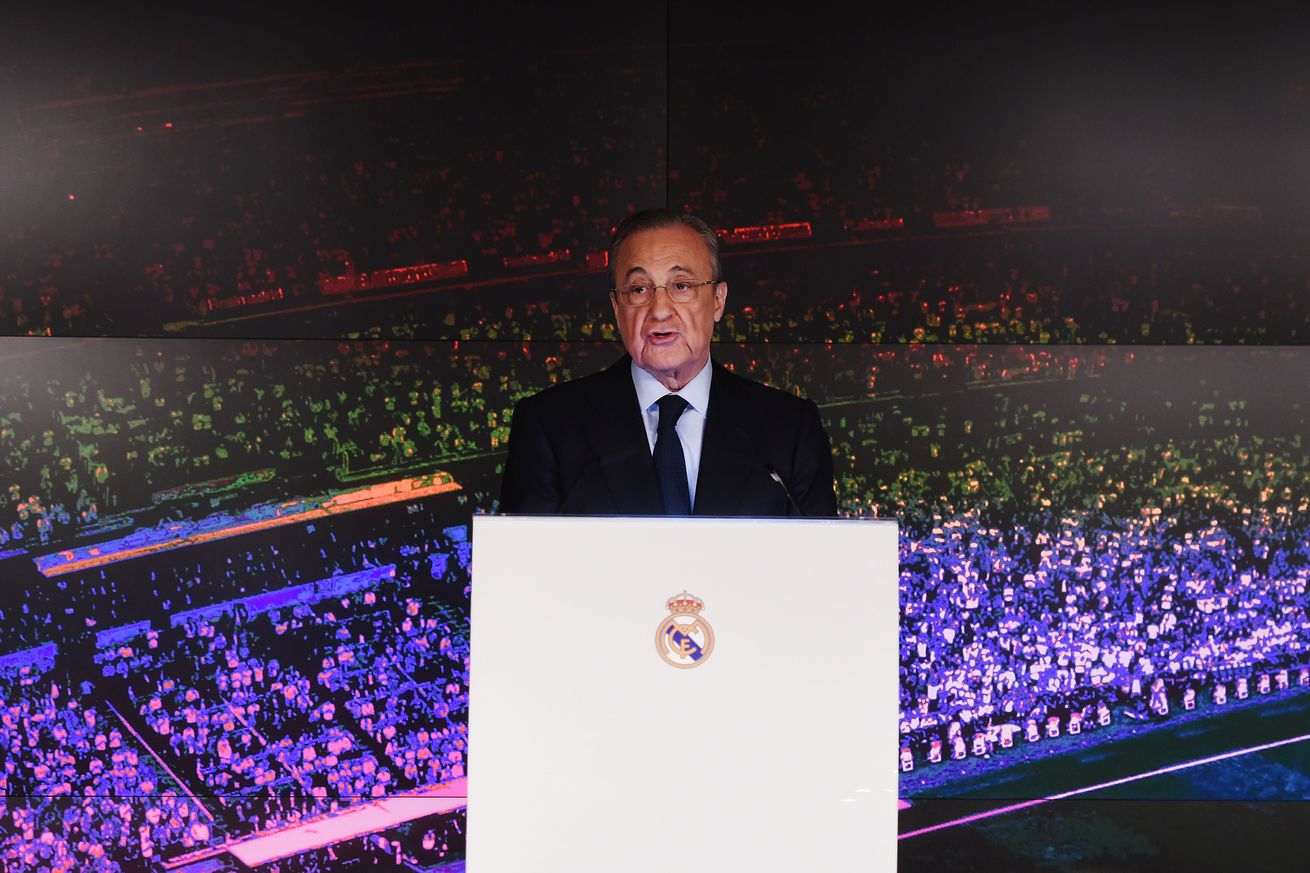 Florentino Perez: ?Maybe Zidane can convince Mbappe...?