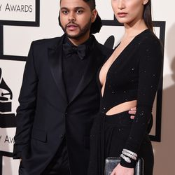 The Weeknd and Bella Hadid in Alexandre Vauthier