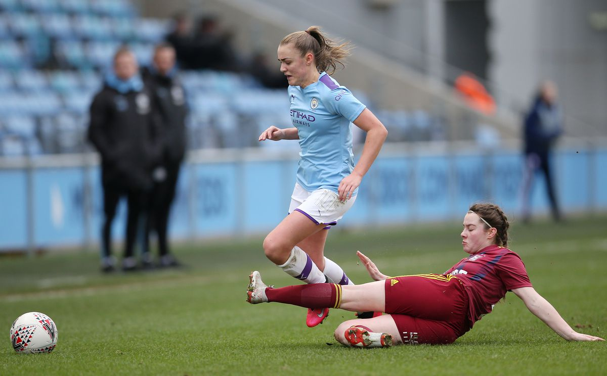 Manchester City v Ipswich Town - FA Women's Cup - Fifth Round - Academy Stadium