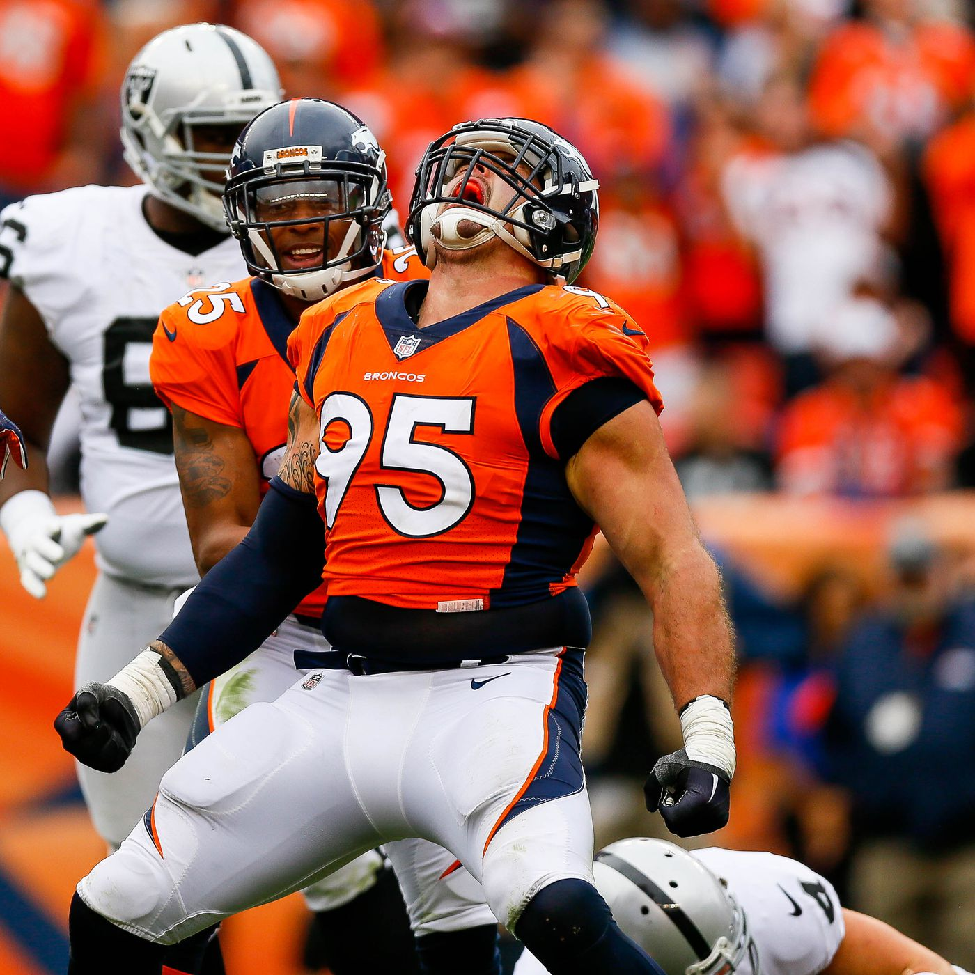 16fa10d65 Veteran players feeling stronger than ever - Mile High Report