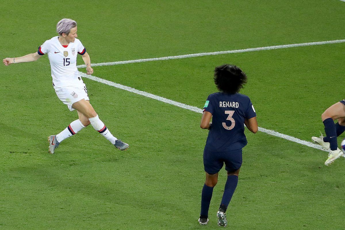 Megan Rapinoe - USA: Quarter Final - 2019 FIFA Women's World Cup France