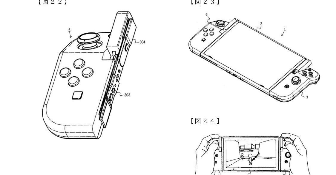 Nintendo files weird patent for hinged Joy-Cons