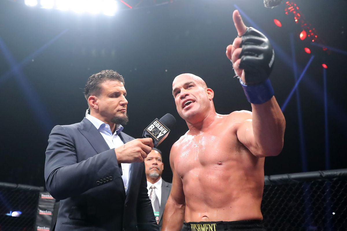 Tito Ortiz has some fighting words for opponent Anderson Silva.