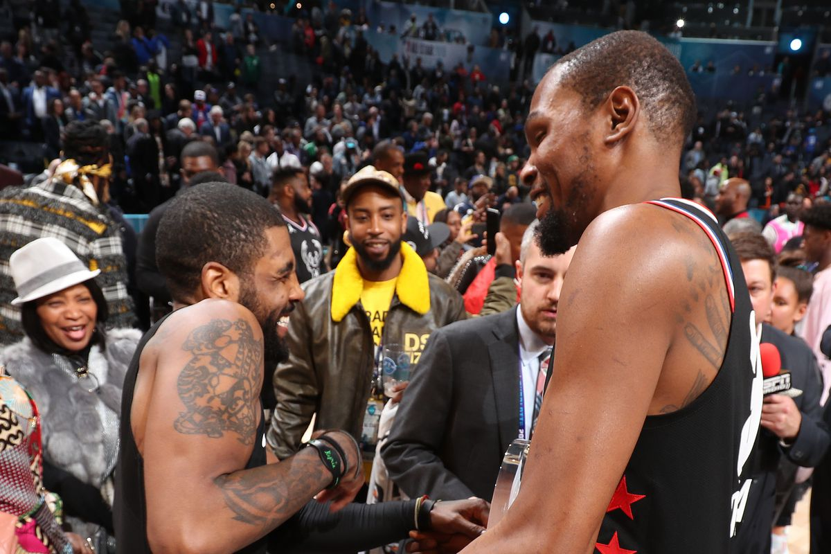 EXCLUSIVE: Nets pursuit of KD and Kyrie doesn't happen without the
