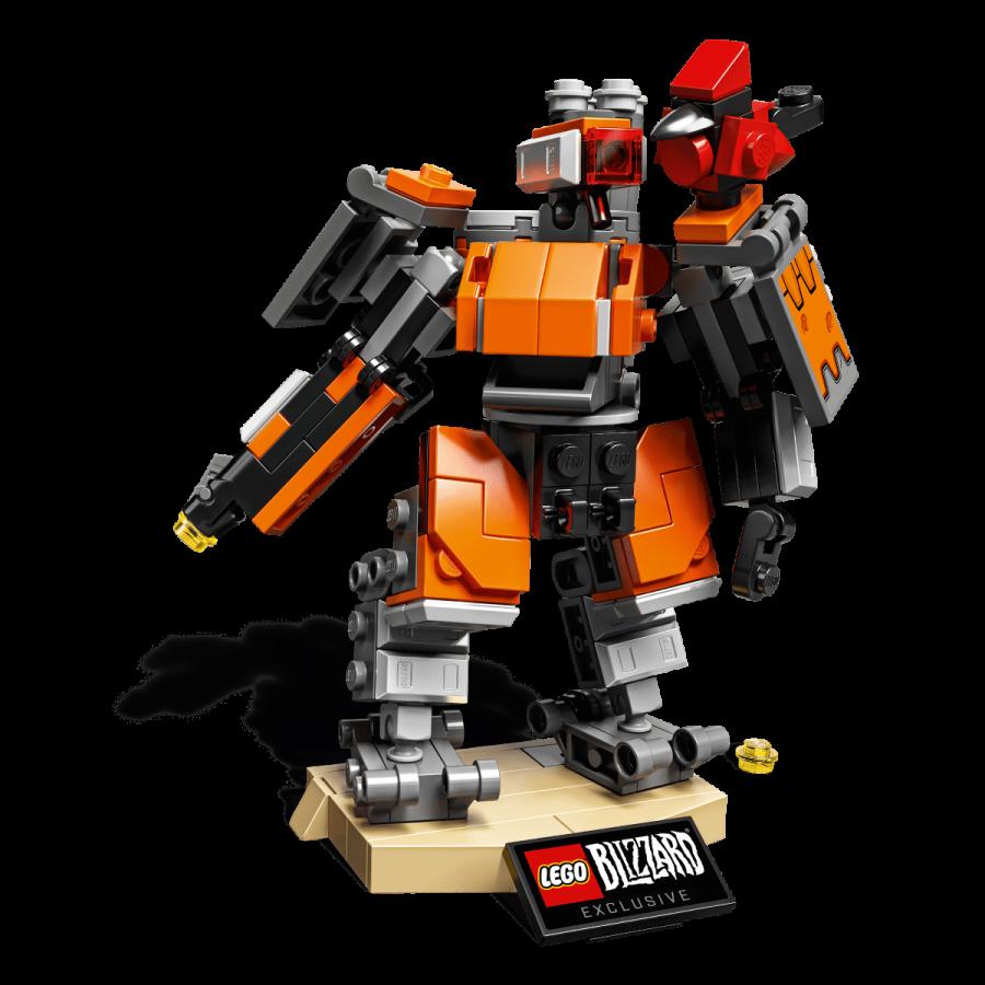 Lego Overwatch Omnic Bastion - product photo
