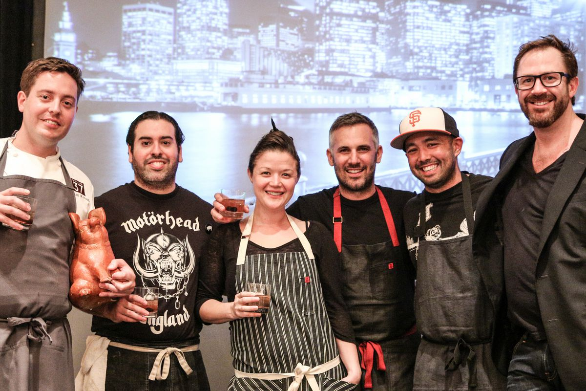Last year's chef competitors.