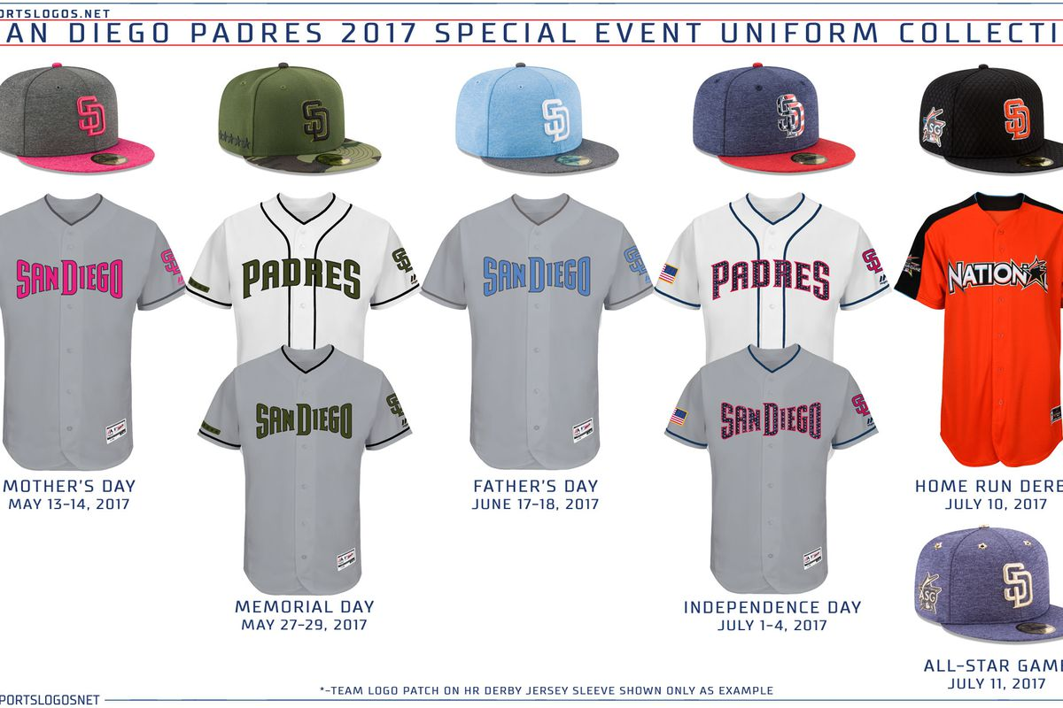 7b8aa6bd67b This year's Special Event looks. Chris Creamer - sportslogos.net