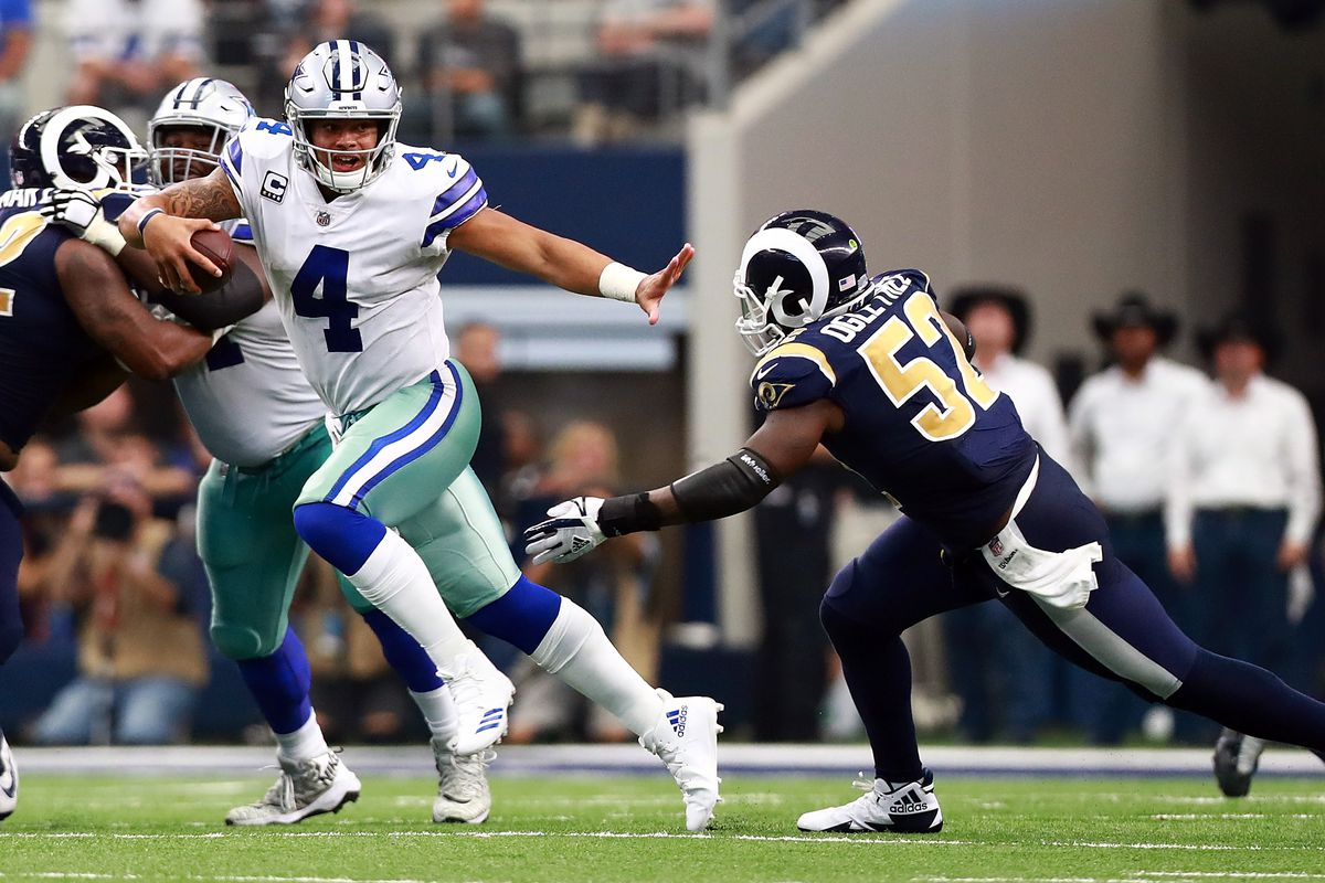961d3fb7d71 The Cowboys and the Rams are set to revive a storied playoff rivalry ...