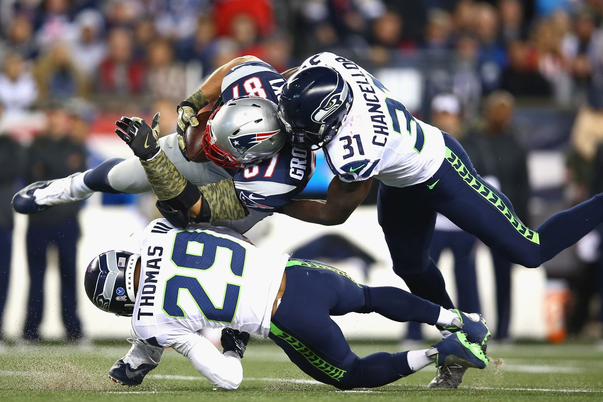 Earl Thomas gave Rob Gronkowski something special: One of the ...