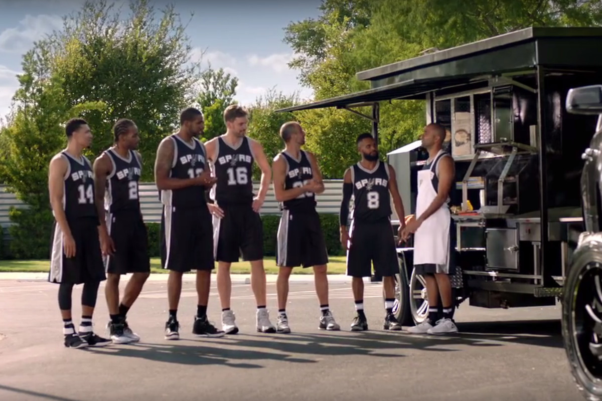 Reviewing this year s Spurs HEB commercials (Part 2) - Pounding The Rock 53cbcac17