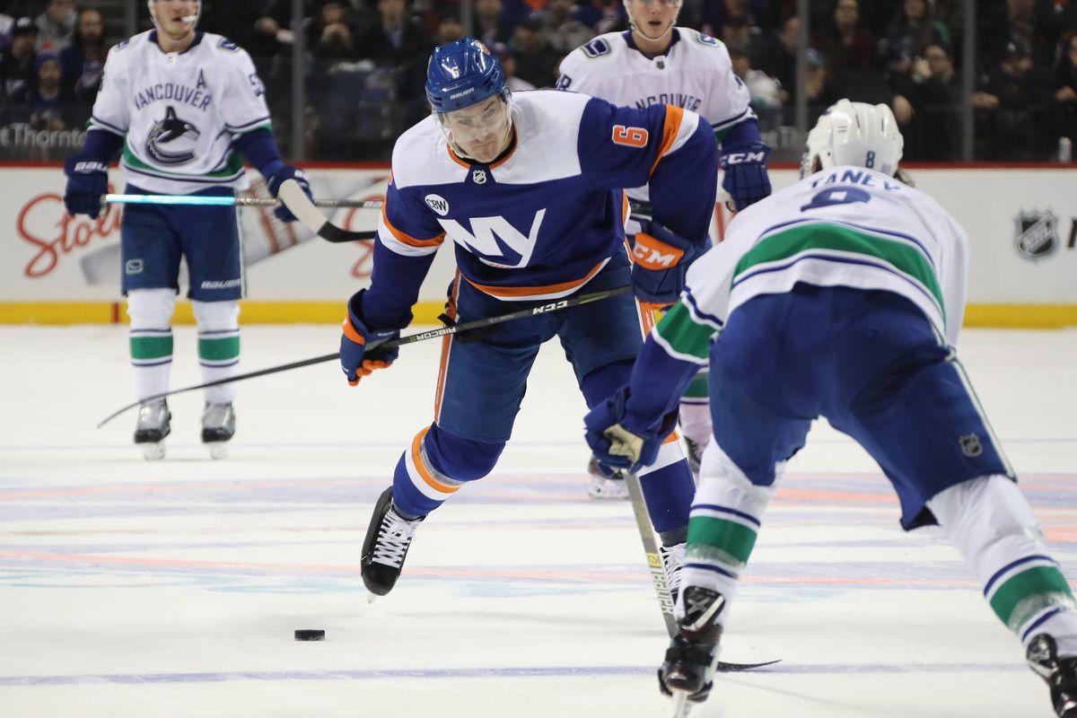 Islanders Gameday News Canucks In Bk Stylish Martin Li Town Names Lighthouse Hockey