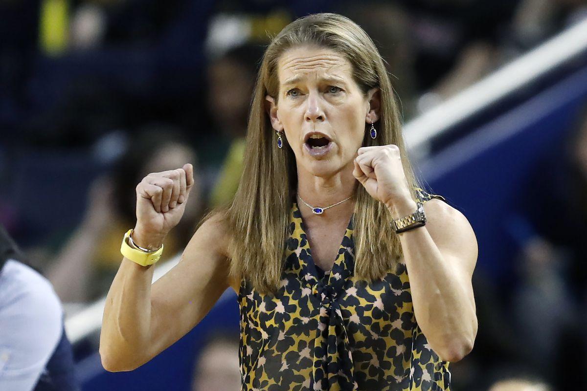 Michigan basketball coach Kim Barnes Arico's recruiting plans were upended by the coronavirus pandemic.