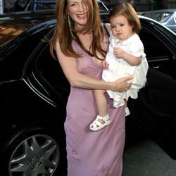 Queen of fashion risks Julianne Moore traded the conventional white gown look for a streamlined lilac slip by Prada at her August 23rd, 2003 wedding to Bart Freundlich.