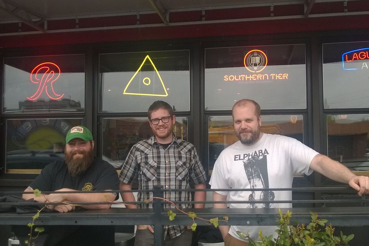 The Holy Mountain Brewing crew.