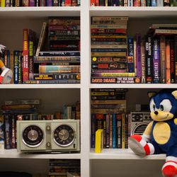 Sonic is several inches taller than the tiny Tails. He's a lot cuddlier too — no offense to our favorite fox.