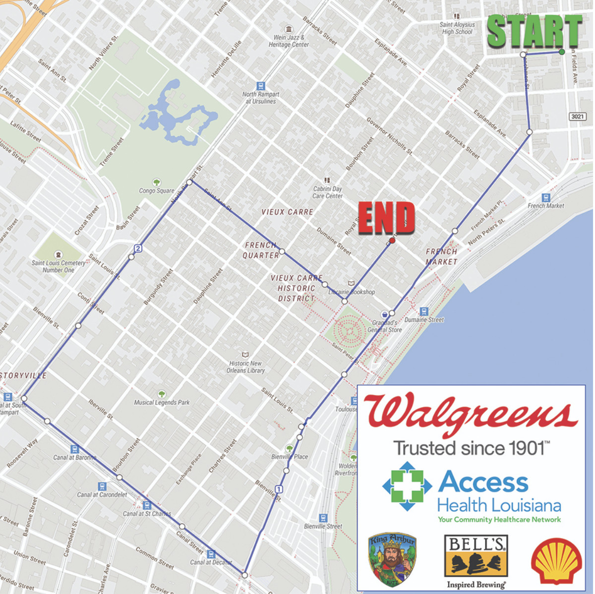 New Orleans Parade Routes Map New Orleans Pride Parade 2019: route and street closures   Curbed