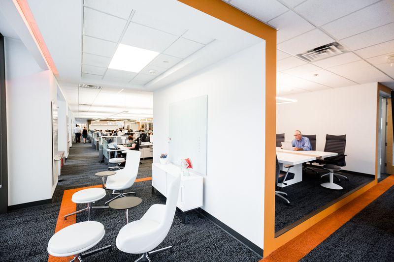 Office Design Group Inside Kraemer Design Group's Sleek Office Space  Curbed Detroit