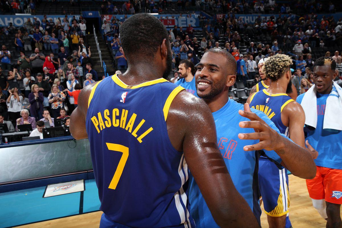 Warriors Vs Thunder Hoping For A Good Job Good Effort Golden State Of Mind