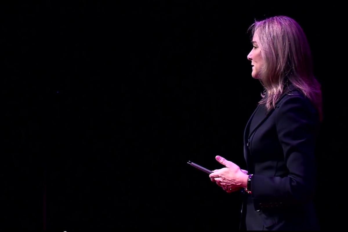 Angela Ahrendts (Credit: TEDx/YouTube)