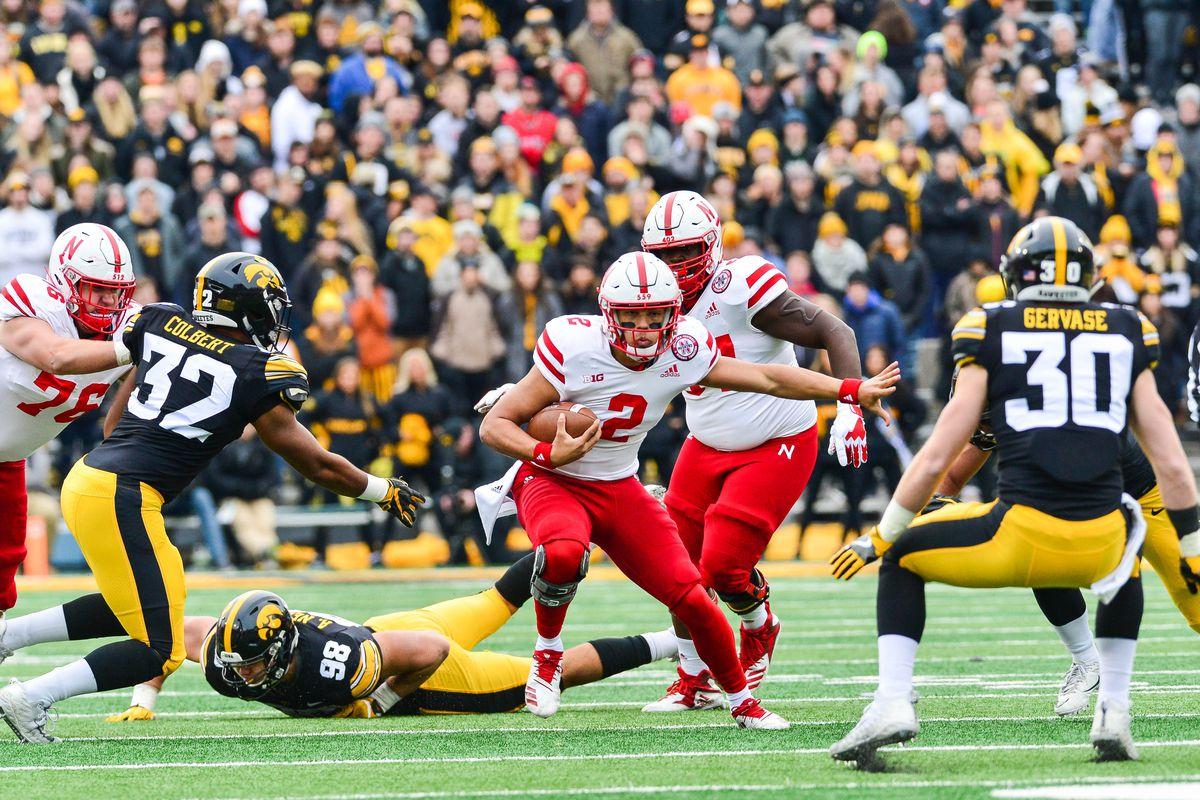 NCAA Football: Nebraska at Iowa