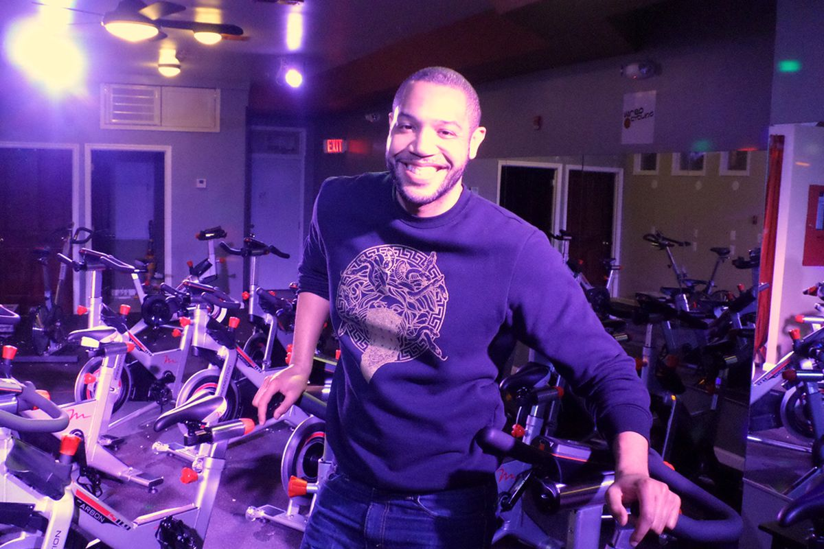 Wired Cycling instructor Joel Patton, image courtesy of Wired Cycling