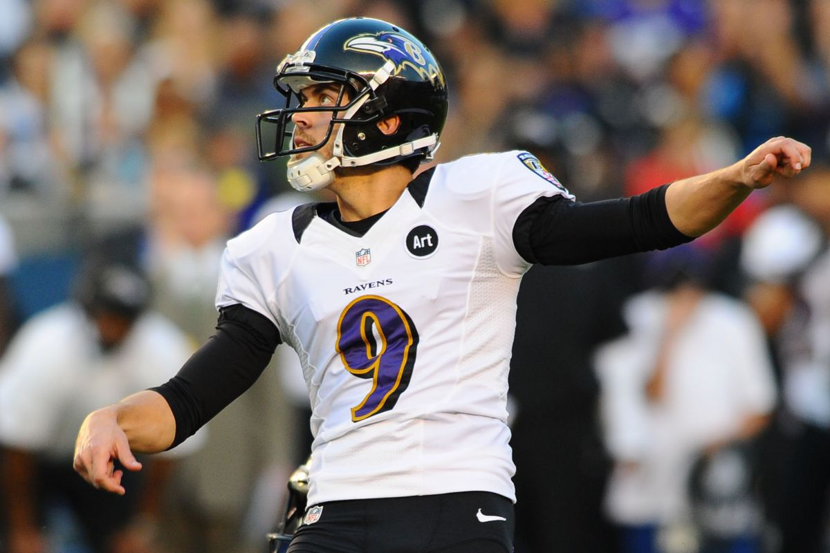 timeless design 4d740 4f471 Ravens kicker Justin Tucker sings opera, raps, produces ...