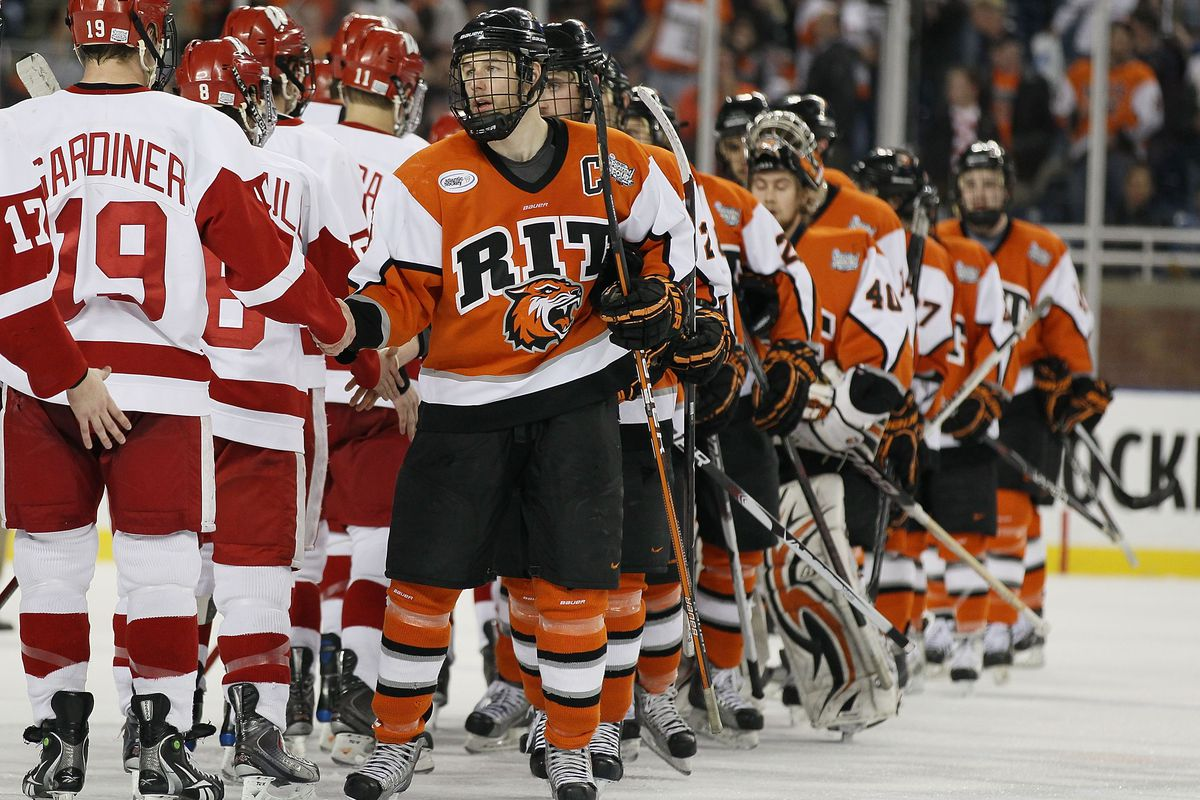 RIT is making its first appearance in the NCAA Tournament since 2010 when it advanced to the Frozen Four.