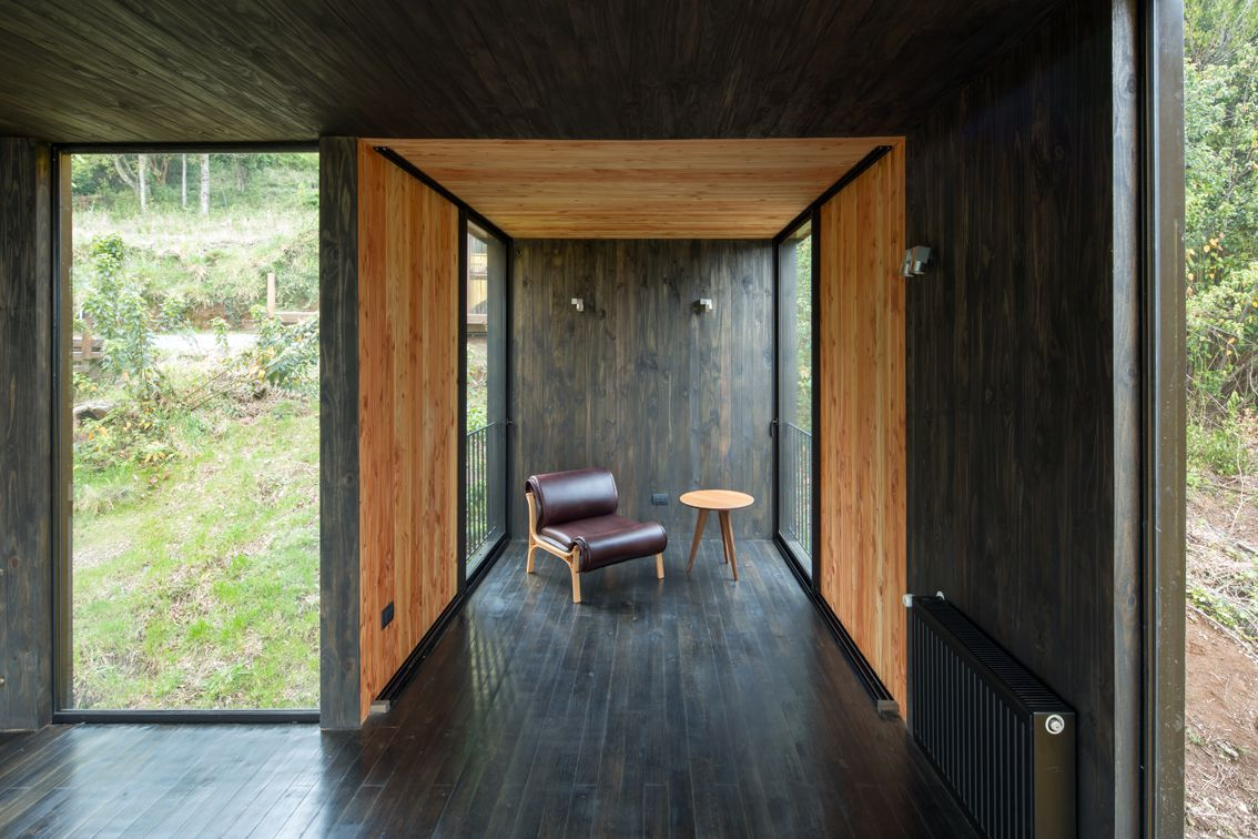 Chair in nook