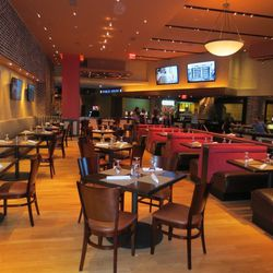 The dining room at the new Public House at the Luxor.