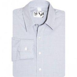 "<a href=""http://www.barneys.com/Mini-Grid-Sport-Shirt/501118733,default,pd.html"" rel=""nofollow"">Mini Grid Sport Shirt</a>, $59 (was $145), CO-OP Barneys New York"