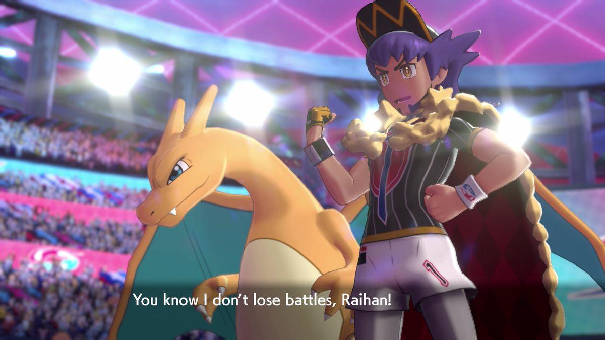 Leon, the Pokemon Sword and Shield champion, boasts.
