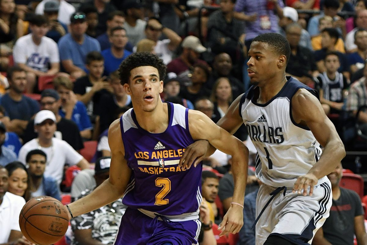 Lakers Video Watch The Best Highlights Of Lonzo Ball S Las