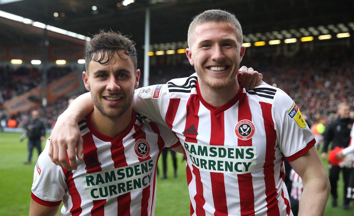 George Baldock and John Lundstram - Sheffield United - Premier League - Bramall Lane