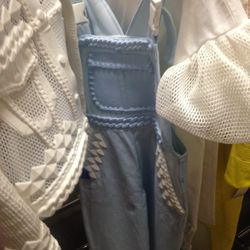 Xiaou overalls, $350