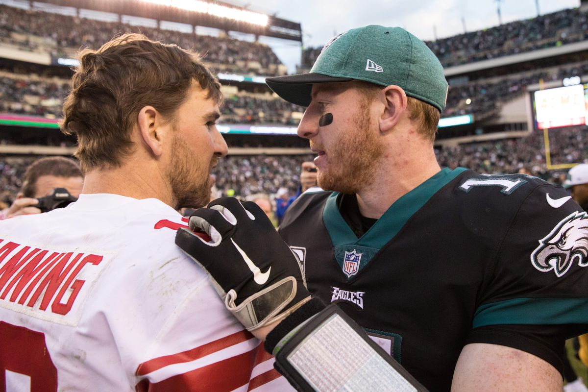 Eagles Made History By Beating The Giants Bleeding Green
