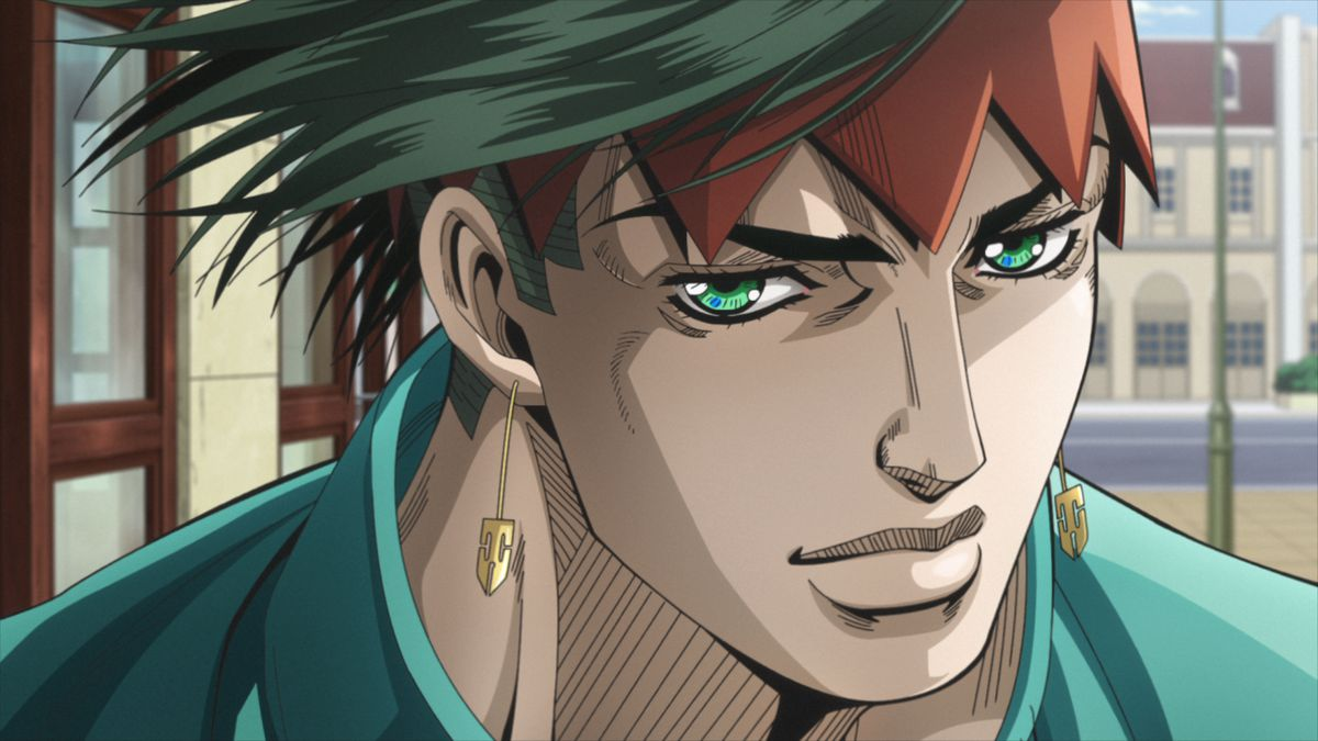 Manga artist and supernatural Stand user Rohan Kishibe in Thus Spoke Kishibe Rohan