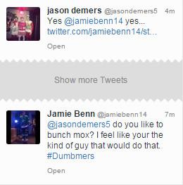 Jamie Benn going Down