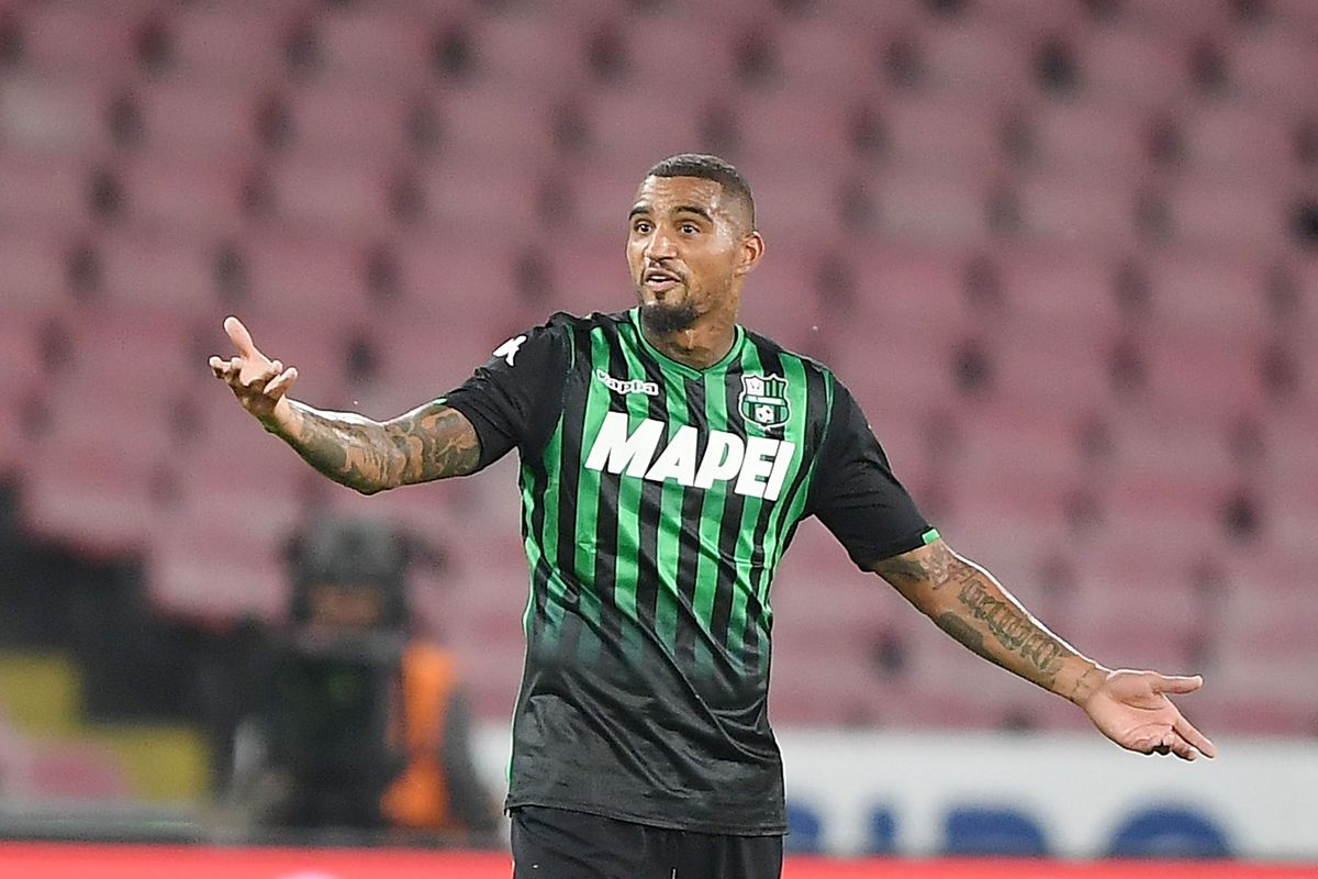 Official Barcelona Sign Kevin Prince Boateng On Loan From Sassuolo