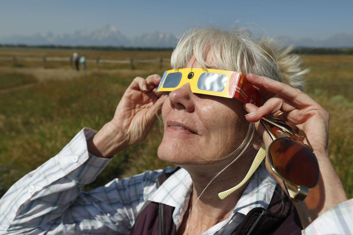 Travelers In The West Hit The Road Flocking To Destinations To Witness Monday's Eclipse In Totality
