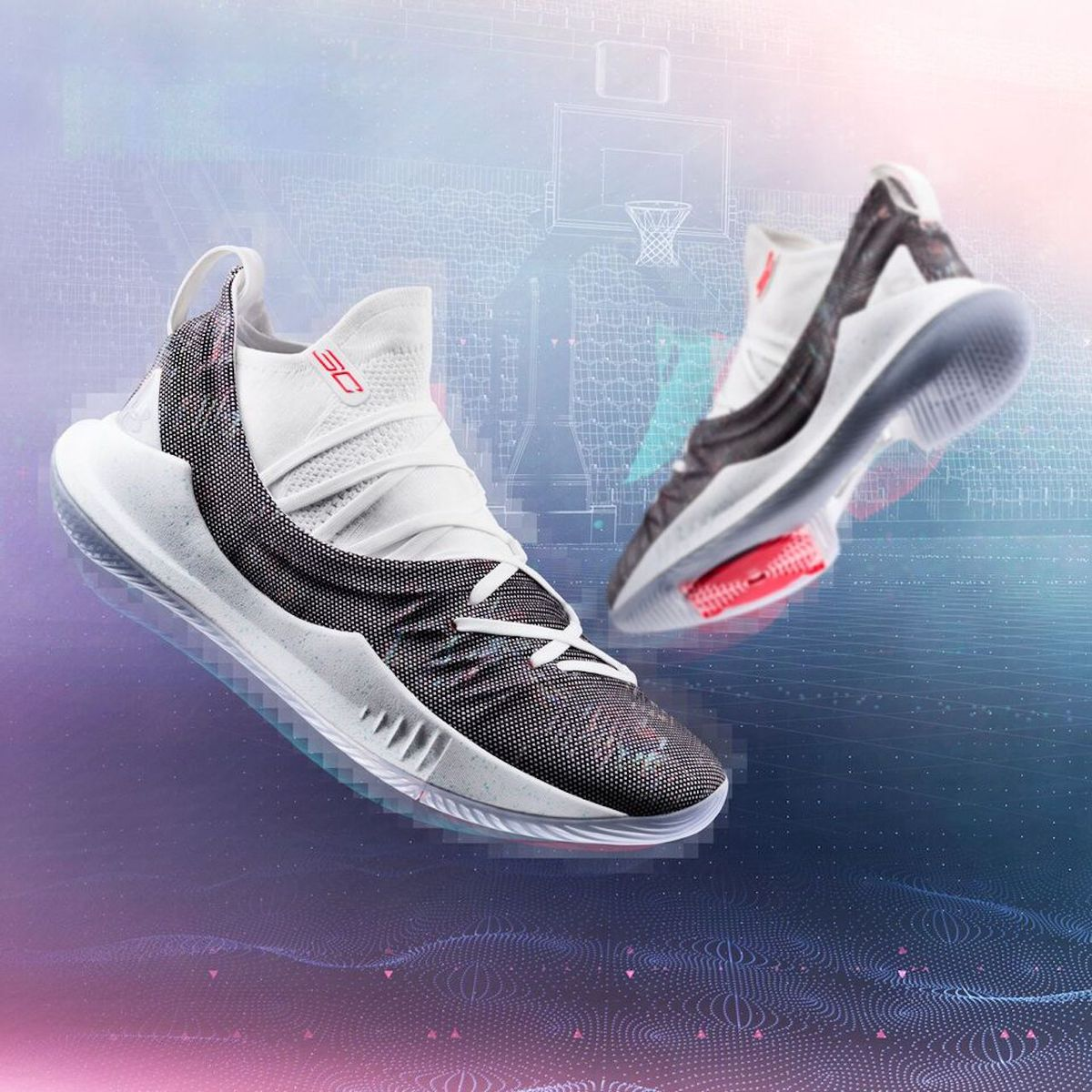 Under Armour releases Curry 5 colorway before Warriors-Rockets Game ... 9830bbf4b319