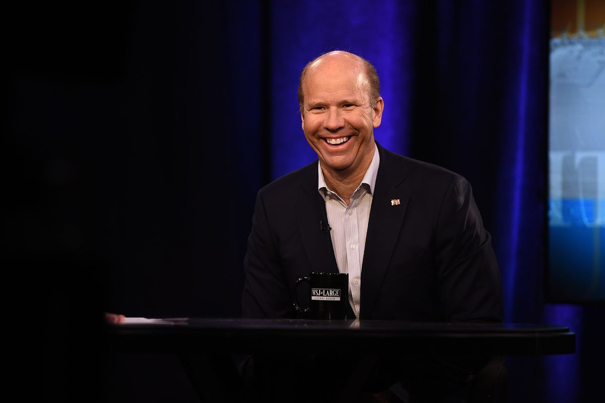 Presidential Candidate John Delaney Visits 'WSJ At Large With Gerry Baker'