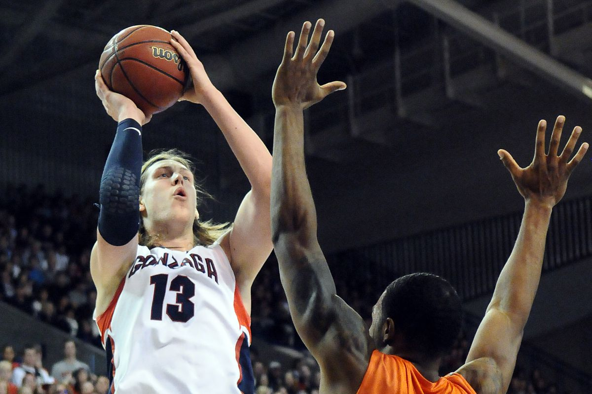 Kelly Olynyk rose above all others in the West Coast Conference