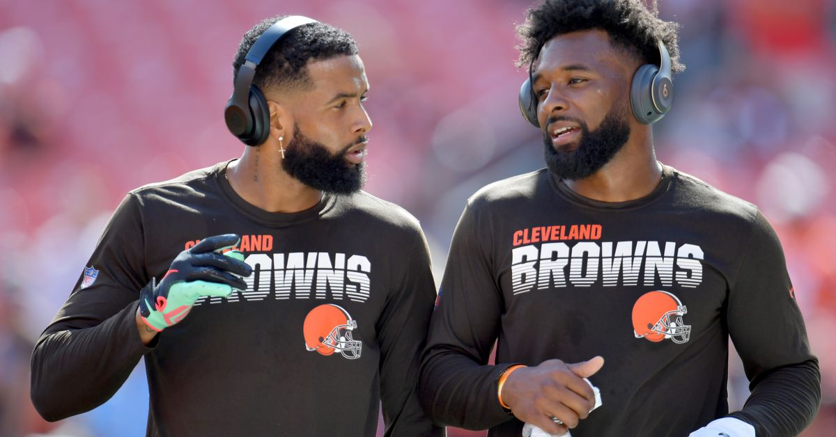 Browns wide receivers taking different routes to health
